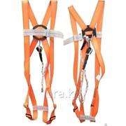 Предохранительный пояс парашютного типа Kemsan CE оранжевый фото