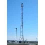 Башня стальная трехгранная с решеткой типа Трилина фото