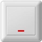 """Выключатель """"Вессен59"""" ВС116-153-18 с/у 1кл. с индик. /60/ фото"""