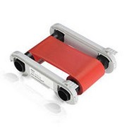 Монохромная красная лента Evolis RCT013NAA 1000 отп. фото
