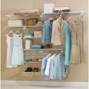 Гардеробная система PartHouse комплектация Premium фото