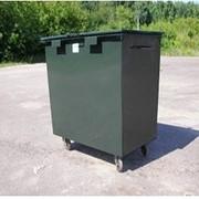 Поставка и установка контейнеров для сбора твердых бытовых отходов фото