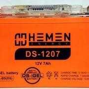 Аккумулятор 12В 7Ач DS фото