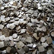 Контакты серебряные, лом столового серебра, ювелирный лом фото