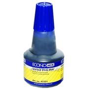 Краска для печати forpus, 30 мл., синяя, economix E42201-02 фото