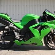 Мотоцикл спортивный Kawasaki Ninja ZX10R фото