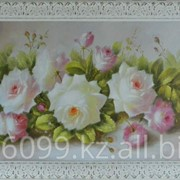 "Картина ""Цветы"" 71х181 фото"