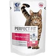 Perfect Fit 85г пауч Adult Влажный корм для взрослых кошек Говядина (соус) фото