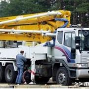 Сервисное обслуживание машин для бетонных работ. фото