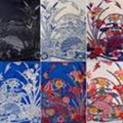 Печать на ткани красками фото