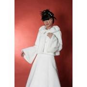 Свадебные шубки и накидки фото