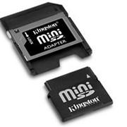 Карта памяти MiniSD 2GB Transcend фото