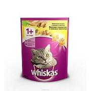 Whiskas 800г Сухой корм для взрослых кошек от 1 года Курица и индейка фото