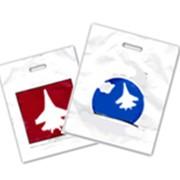 Печать логотипа на пакетах фото
