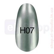 Зеркальный лак Hollywood 8ml H 07 (зелёный, серый) фото