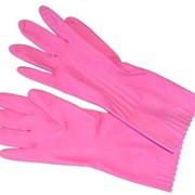 Перчатки резиновые фото