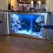 Случилась неприятность, потек аквариум, не волнуйтесь, мы поможем. Выезжаем на место. фото