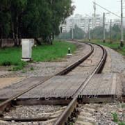 Покрытия резиновые для железнодорожных и трамвайных переездов фото