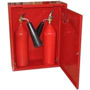 Пожарные шкафы для огнетушителей ШПО цена в Пожарном магазине для всех видов огнетушителей фото
