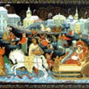 Мастерская иконописи Палехской школы фото