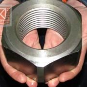 Гайка шестигранная М33, М36, М42, М48 ГОСТ 5915-5927 крупного размера без покрытия со стандартным шагом резьбы класс прочности 4.0 фото
