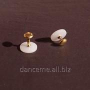 CHRISANNE Пуговицы для пластикового воротничка, золото фото
