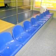 Сидения пластиковые для трибун спортивных и залов. фото