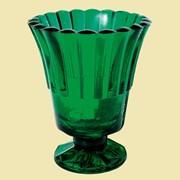 Лампада Тюльпан (зеленая). Арт. Ст.909. фото