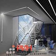 Светильник встраиваемый линейный светодиодный 36W E-LINE 036 фото
