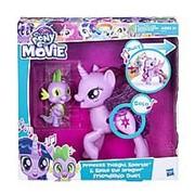 Набор My Little Pony Дуэт дружбы Твайлайт и Спайк фото