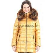 Куртка Mishele 9901 охра фото