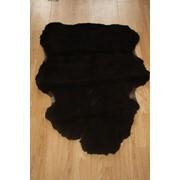 Овчина крашенная черная фото