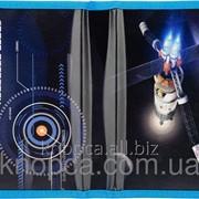 Пенал Kite 621 Space 1 отделение Черно-синий фото