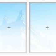 Металлопластиковое окно Bauline 1м2, 2-е остекление, глухое фото