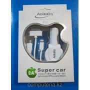 Автомобильное зарядное устройство P21 для Iphone/Ipad, Samsung фото