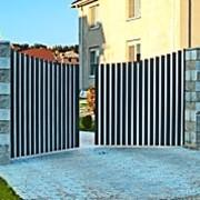 Распашные ворота Алютех фото