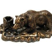"""Подставка под письменные принадлежности """"Медведь"""" Л042 фото"""