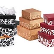 Коробки подарочные квадратные и прямоугольные фото