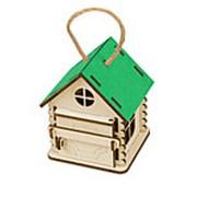 Игрушка Домик упаковка, зеленый фото