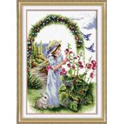 """Набор для вышивания """"Цветочный сад"""" 110802 фото"""