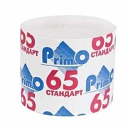 Туалетная бумага Primo 65, 1-сл. без втулки (40шт/уп) фото
