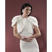 Болеро для невесты. Модель П-1585. Артикул 12С206-Д41 фото