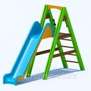 Игровой комплекс модель К01-2 Игровые комплексы серии Патиланци Детские горки парковые фото
