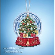 Набор для вышивания Christmas Tree Snow Globe фото