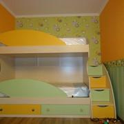 Кровать двухъярусная под заказ. фото