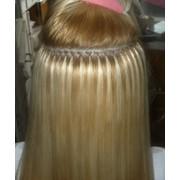 Микрокапсульное наращивание волос по итальянской технологии Euro SO. Cap фото