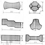 Изделия из пластмасс литьевые, Формы для изготовления тротуарной плитки фото