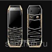 Телефон Rittal Vertu k9 RAM 512 Mb ROM 4GB black - Gold 86436 фото