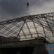 Металлоконструкции нетиповые весом до 25 тонн, балки Н - образного сечения, колонны и подкрановые балки промышленных зданий, ферм, связи, прогоны и другие металлоконструкции фото