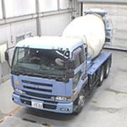 Автобетоносмеситель Nissan UD кузов CW55A г 2003 миксер грузоподъемность 9.92 тн пробег 220 т.км фото